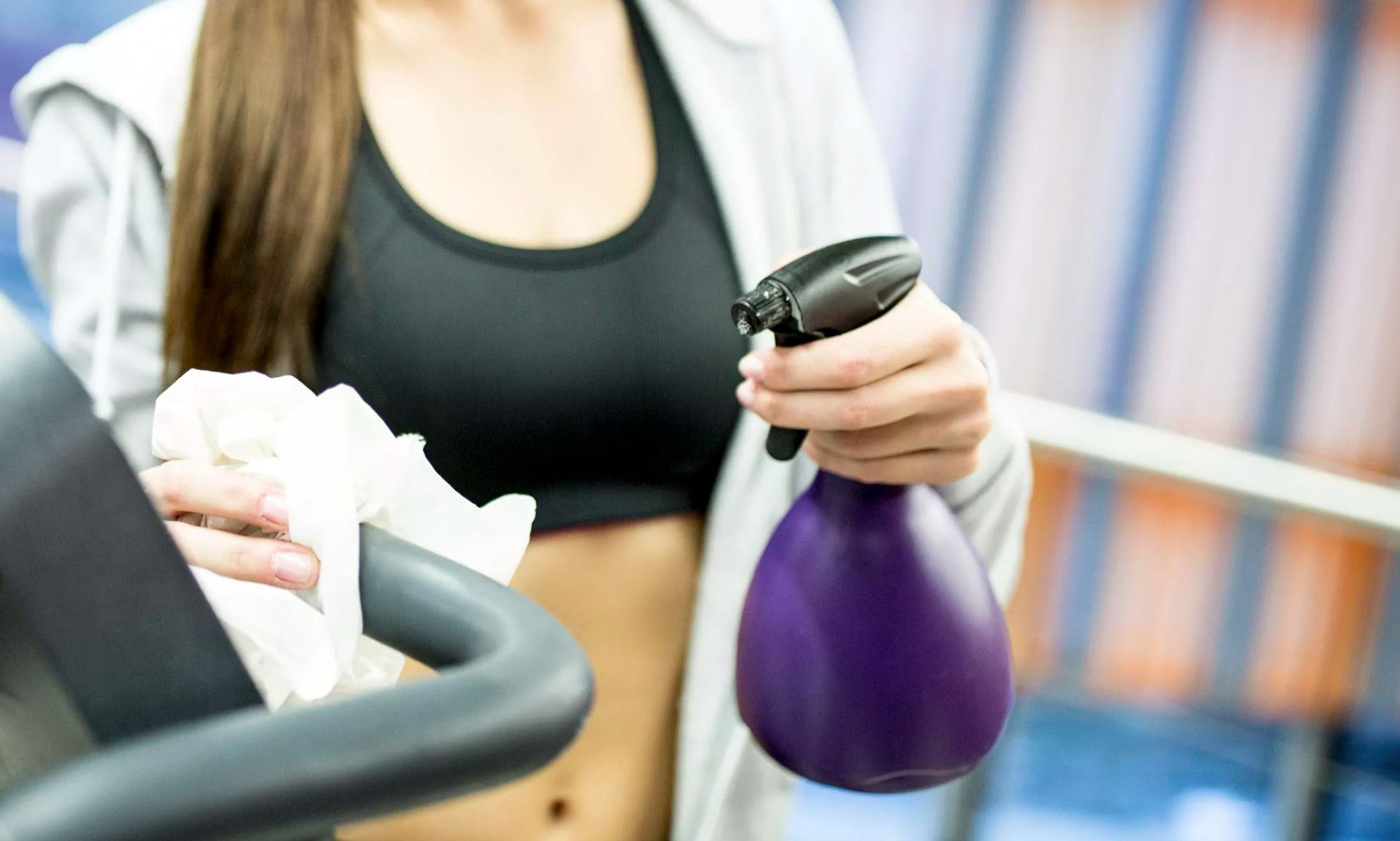 Effectively Disinfecting Gym Equipment
